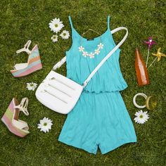 Perfect romper for a picnic this summer! #rue21