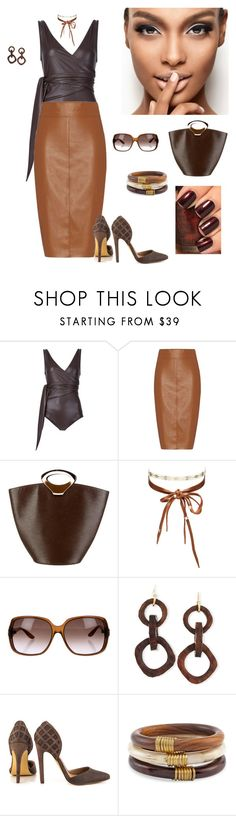 """LOOK # 196"" by afemei on Polyvore featuring moda, Lisa Marie Fernandez, Bailey 44, Louis Vuitton, Chan Luu, Gucci, NEST Jewelry, Michael Antonio, Chico's e OPI"