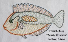 Quilt Book -- Aquatic Creatures -- Applique Quilting Pattern Book -- Frogs, Turtles, and Fish Applique Patterns for Hand or Fusible Applique Blackwork Embroidery, Hand Embroidery Patterns, Applique Patterns, Embroidery Art, Embroidery Stitches, Quilt Patterns, Embroidery Designs, Sewing Patterns, Machine Applique