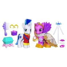 "Pixie is alll about ""flying unicorn ponies""  My Little Pony Friendship Is Magic Crystal Empire Set"
