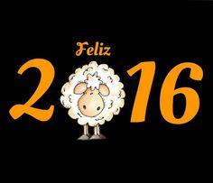 Feliz año 2016¡ un borrego