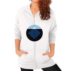 Iceberg Zip Hoodie (on woman) Shirt