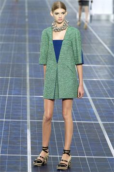 #moda Photos and comments to know the collection, the outfits and accessories of Chanel Spring Summer 2013 Collections presented for