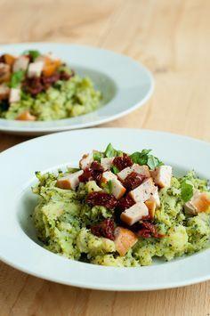 Italiaanse broccolistamppot Healthy Snacks, Healthy Eating, Healthy Recipes, Pub Food, Happy Foods, Winter Food, Fresco, No Cook Meals, Vegan