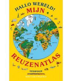 Biebwinkel A tot Z en kinderboekwinkel De Giraf: Hallo wereld Mijn reuzenatlas