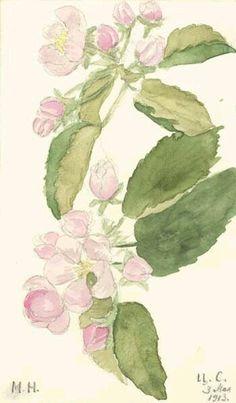 "Painting by the Grand Duchess Maria Nikolaevna Romanova of Russia. ""AL"""