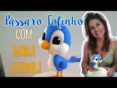 Mara Guidali - Atelie Biscuit e Festa -  maraguidali@hotmail.com: Passo a Passo: Pássaro Fofinho