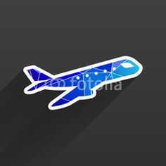 Airplane Plane symbol Travel icon
