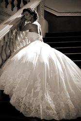 Nicki Flynn Bridal - True Bride--love the lace detail! 2015 Wedding Dresses, Wedding Bridesmaid Dresses, Bridal Dresses, Wedding Gowns, Deb Dresses, Modest Wedding, Lace Wedding, True Bride, Wedding Styles