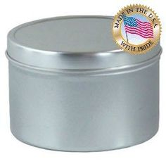 8 Oz Seamless Candle Tins Per 12 *** Click image for more details.Note:It is affiliate link to Amazon.