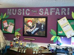Music Safari Piano Wall View                        2014-2015