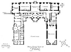 Neuschwanstein castle, Floor plans and Floors on Pinterest