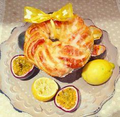 Hefezöpfe mit Zitronen-Maracuja-Curd Pineapple, Fruit, Spring, Food, Challah, Pine Apple, Essen, Meals, Yemek