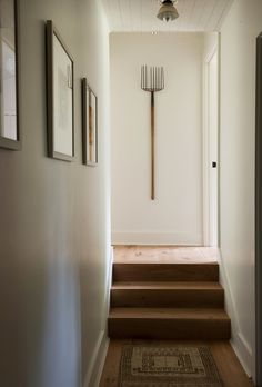 Modern farmhouse cottage (Desire To Inspire) Small Cottage Homes, Cottage House Plans, Small House Plans, Farm House, Cottage Hallway, Cheap Interior Doors, French Country Cottage, Country Living, Cottage Design