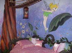 tinkerbell room girls room