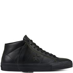 #CONS #OneStar #Pro #Leather #Negro #black #circulogpr #sneakers