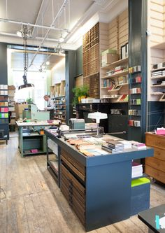 Mijn Brusselse-lievelingswinkel: Le Typographe - Rue Américaine 67, 1050 Brussels
