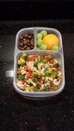 Lunch 70: Shrimp Salad | Flickr #bento #worklunch