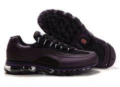 uk availability dfbe9 37e8b Danmark Billige Nike Air Max 24-7 Trainers Mænd - Purple Nike Air Jordans