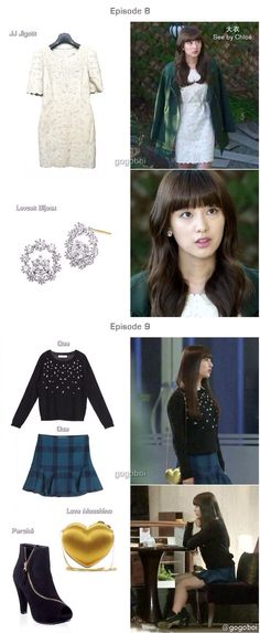The heirs / kim ji won fashion