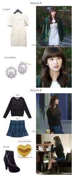The heirs / kim ji won fashion