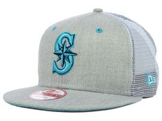 794950258d1 Seattle Mariners MLB Heather Trucker 9FIFTY Snapback