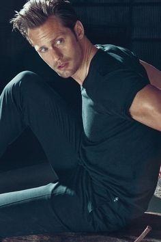 Alexander Skarsgard.. i just want 5 min.. cuddle n talk n he will be mine ;)