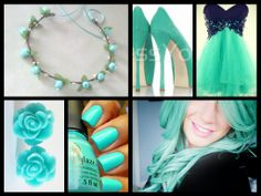 Sweet 16 ideas! :) i want this color blue I love it so much