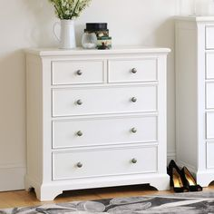 22 Best White drawers images in 2014 | Chest of Drawers, White ...