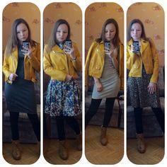 Сеты с желтой косухой и платьями