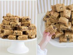The Best Chocolate Chip Cookie Bars - So Festive!
