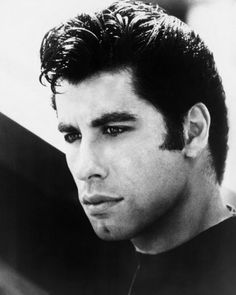 A young John Travolta (in my favorite movie, Grease...so bonus!)
