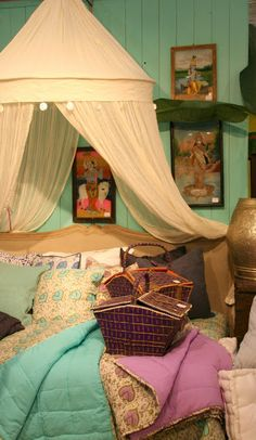 Indoor Glamping
