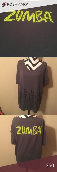 Zumba top women size M/L Perfect for the Zumba lover 💗 size M/L on women's 💗cute for Zumba class💗good condition Zumba Tops