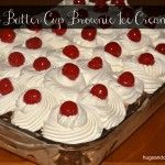 Banana Split Brownie Ice Box Cake - Hugs and Cookies XOXO