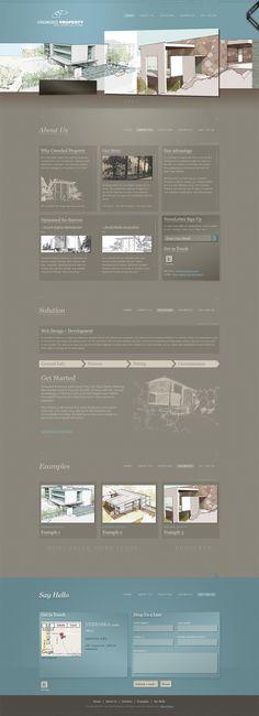 Crowded Property - Real Estate Web Design  www.crowdedproperty.com