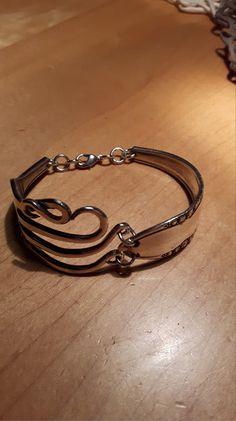 Besteckschmuck Armband Gabelarmband von adlhoch-schmuck-creation auf DaWanda.com