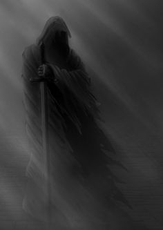 Dark Artwork, Skull Artwork, Dark Art Drawings, Evvi Art, Grim Reaper Art, Dark Souls Art, Grey Knights, Ninja Art, Dark Photography