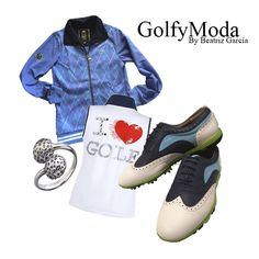 Golf y Moda: Mezcla Estilos en tu Indumentaria de Golf Golf, Outfits, Polyvore, Fashion, Moda, Fashion Styles, Clothes, Fashion Illustrations, Fashion Models