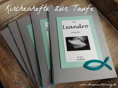 stampinwithfanny stampin up kirchenheft taufheft l. stampinwithfanny stampin up kirchenheft taufheft liederheft thema fisch Invitation Cards, Party Invitations, New Baby Cards, Guest Gifts, Book Themes, Printed Materials, Letters And Numbers, Stamping Up, Best Part Of Me