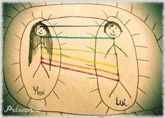Les petits bonhommes allumettes, un exercice simple et efficace pour couper les liens d'attachement négatifs.