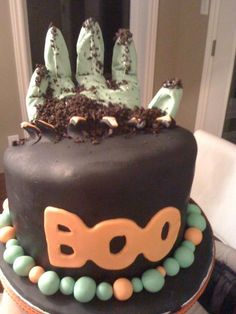 cool halloween cooking ideas | Just a cool halloween cake: not what the winner's cake will look like!