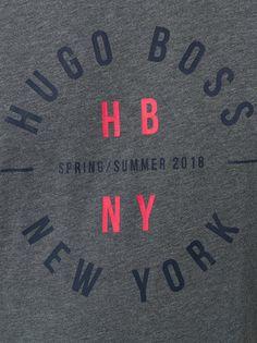 Boss Hugo Boss Camiseta com estampa de logo