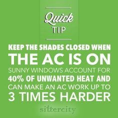 Quick tips for your AC to work with full efficiency in this summer. Specialty Air Inc specialized in AC services like installation, maintenance & repairs at your doorstep.