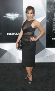 Zoe Kravitz rocks a sheer risque dress