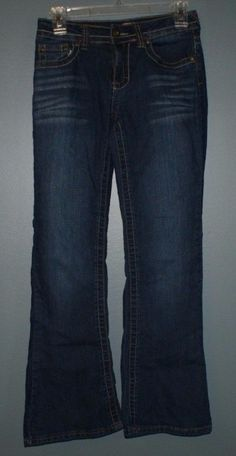 Mudd boot cut style jeans with adjustable waist, youth girls size 14R #Mudd #BootCut #Everyday
