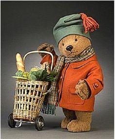 RJW Dolls presents - Market Paddington tall, fully jointed, alpaca plush… Vintage Teddy Bears, Cute Teddy Bears, Teddy Hermann, Tedy Bear, Love Bears All Things, John Wright, Paddington Bear, Bear Doll, Pooh Bear