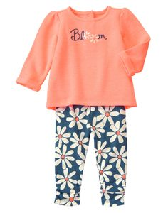 Bloom Two-Piece Set (Gymboree 0-24m)
