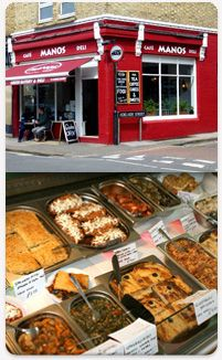 Greek restaurant - Oxford - Manos Food Bar - Restaurant and Food