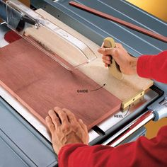 14 Cutting Edge Table Saw Hacks ~ Straight from top pro woodworkers—ultra-clever tips for getting the most from your table saw.